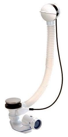 Vidage pour baignoire avec volant wave 650mm, 0203611, à câble, NICOLL