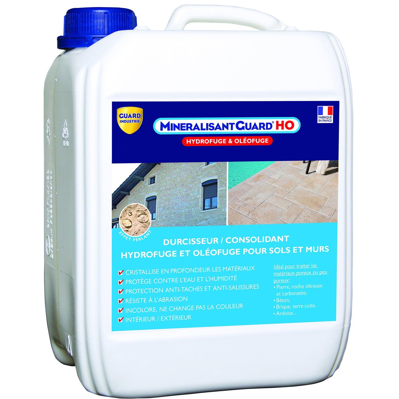Minéralisateur pour murs friables//durcisseur et imperméabilisant 10L