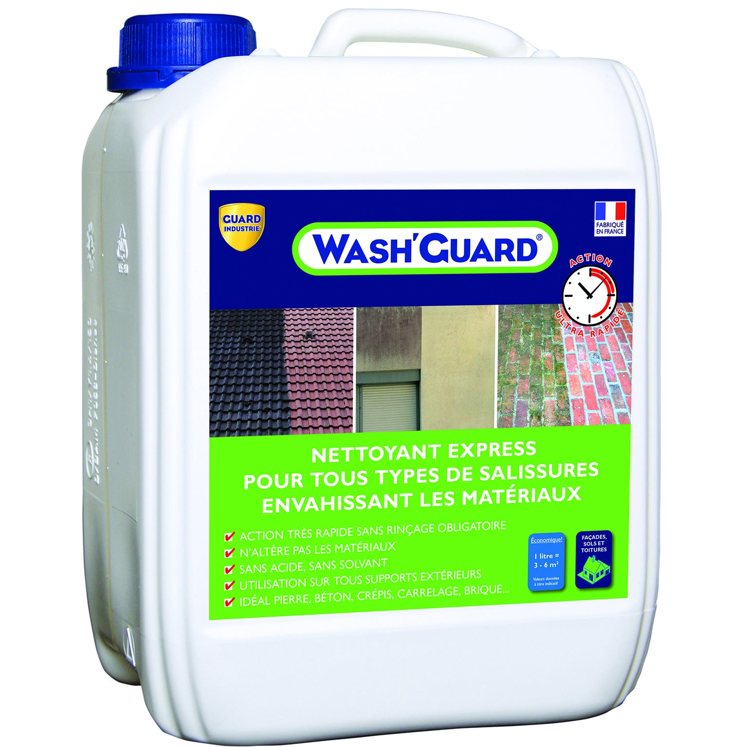 Nettoyant Guard Industrie Express Wash Guard 5 L Incolore Leroy Merlin