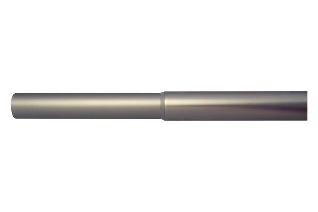 Tringle A Rideau Extensible Design Argent Mat D 25 28mm De 200 A 360cm Inspire Leroy Merlin