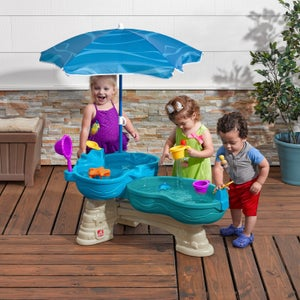 Table sable et eau plastique STEP 2, L.63 x l.110 cm