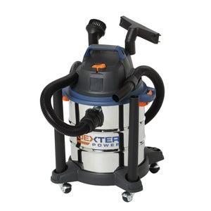 Image : Aspirateur de chantier eau et poussières DEXTER POWER, 15 kPa, 20 l