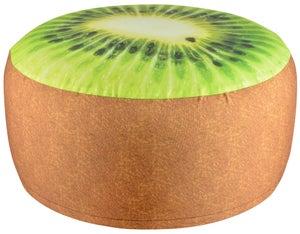 Image : Pouf gonflable impression kiwi imperméable Bk012, D58cm