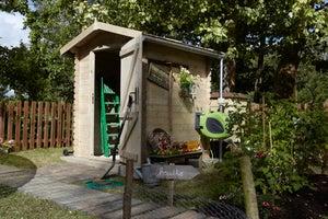 Image : Abri de jardin bois MADEIRA Bex Ep.19 mm, 2.43 m²