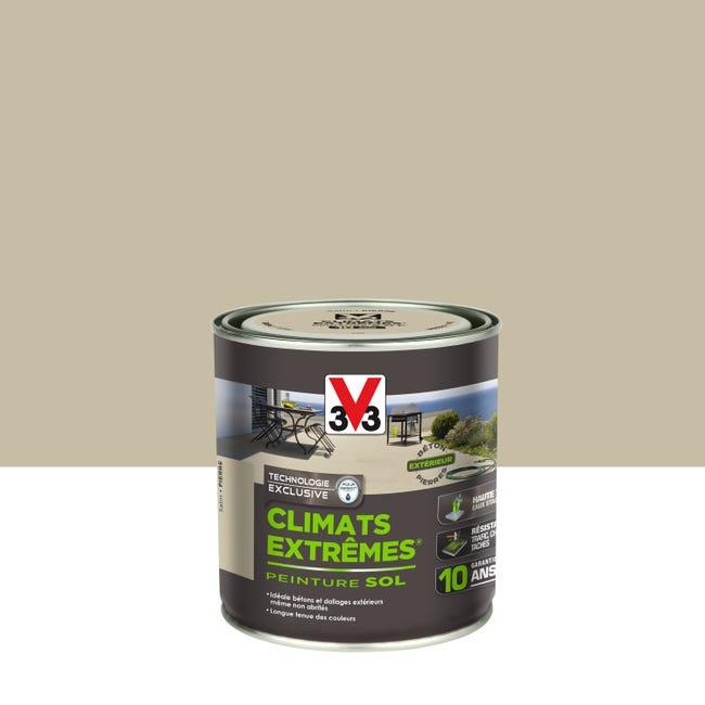 Peinture Sol Exterieur Climats Extremes V33 Pierre Satine 0 5 L Leroy Merlin