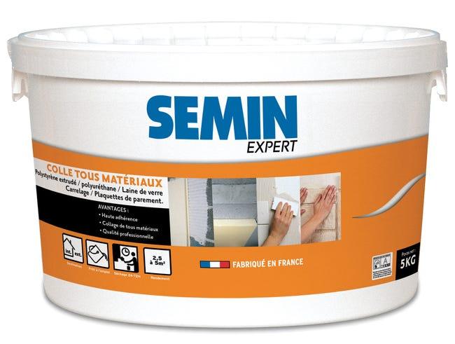 Colle Pate Pour Materiaux Isolants Semin Expert Blanc 5 Kg Leroy Merlin