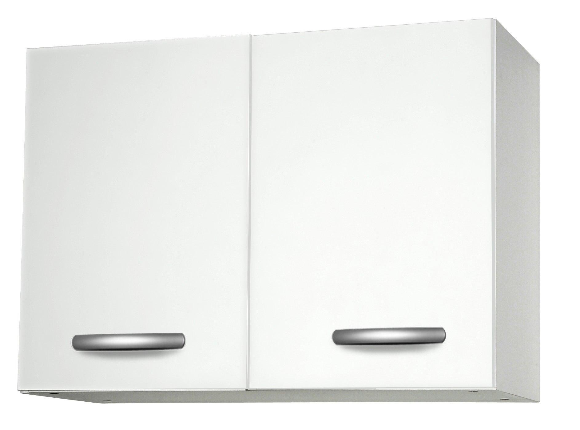 Meuble de cuisine haut 10 portes, blanc, h10.10x l10x p10.10cm