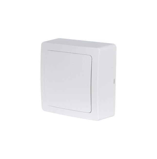 Boîte de dérivation saillie, LEXMAN Opus, blanc - 1