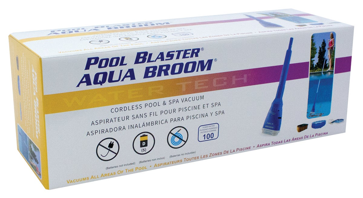 Aspirateur autonome Aqua Broom pour petite piscine et spa
