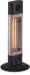 Réglette infrarouge électrique 600 sur pied 1200 W VEITO