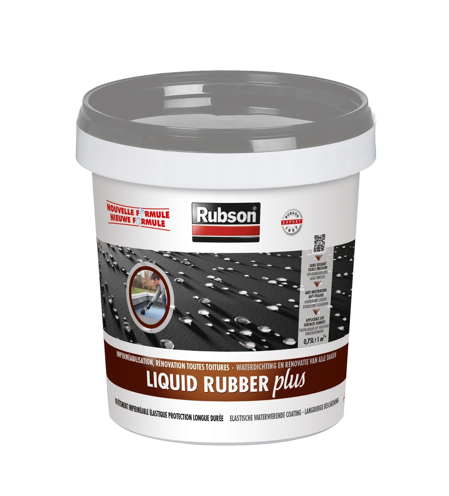Revêtement d'étanchéité toiture Rubson liquid 0.75L gris   Leroy Merlin