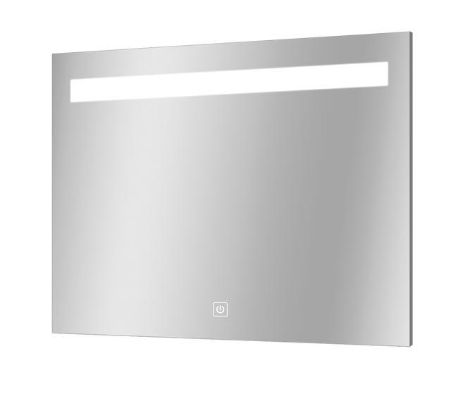 Miroir Lumineux Avec Eclairage Integre L 90 X H 70 Cm Portland Leroy Merlin