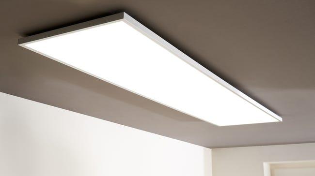 panneau led intégrée 120x30 cm blanc chaud  froid