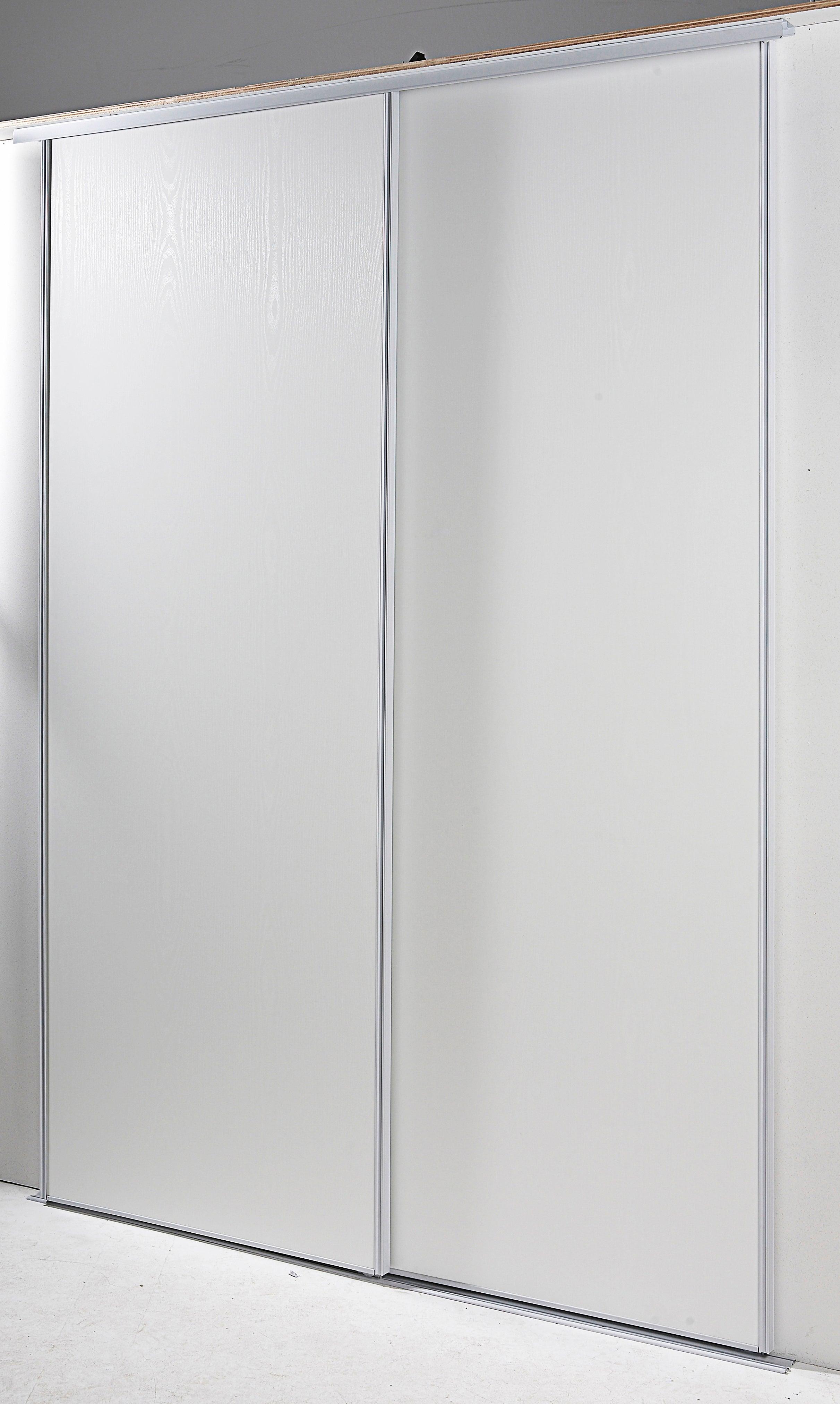 Portes De Placard Coulissantes 2 Portes Blanc L180xh250cm Leroy Merlin