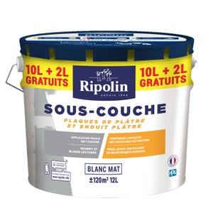Sous-couche plaque de plâtre RIPOLIN, 12 l