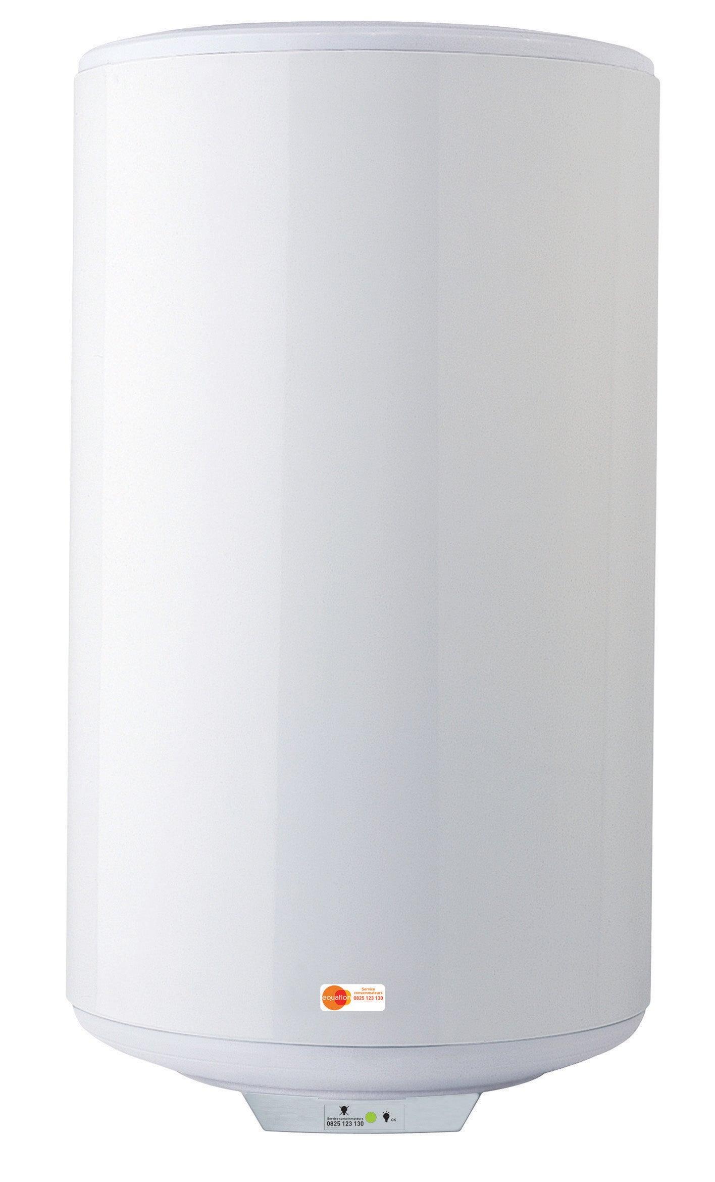 Chauffe Eau Electrique Horizontal Mural Sorties De Cote 200 L Leroy Merlin