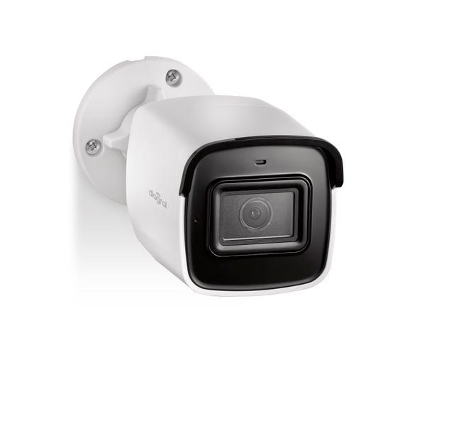Camera De Surveillance Diagral Connectee Exterieure Sans Fil Blanche Diag24vcf Leroy Merlin