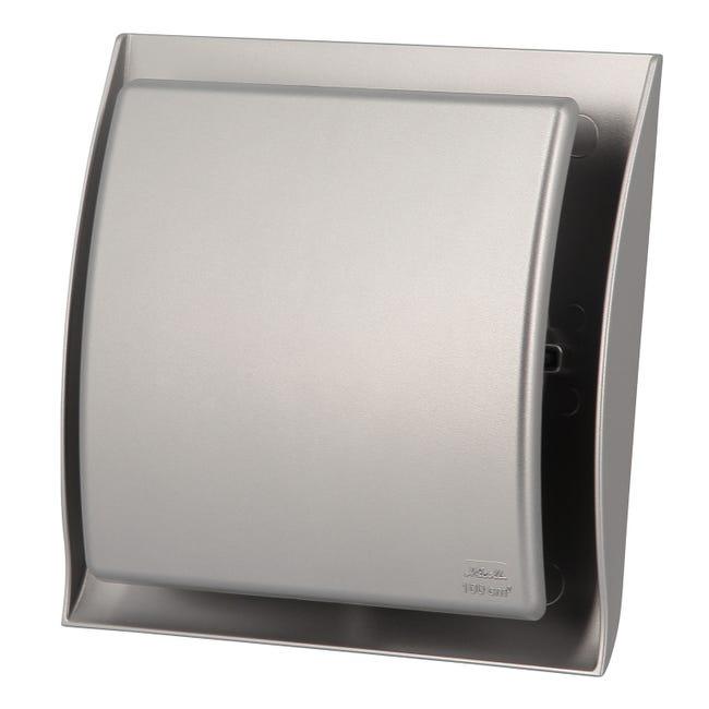 Grille Ventilation A Fermeture Neolia Inox D 12 5 Cm Gdt125x Nicoll Leroy Merlin