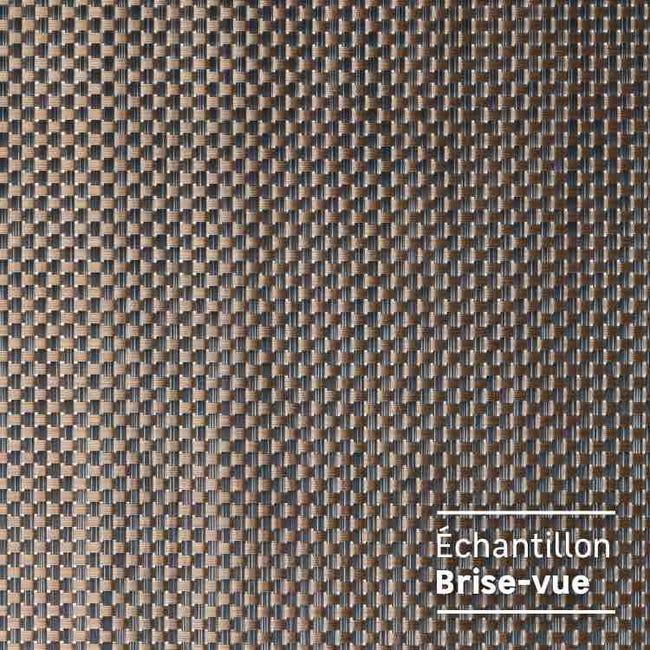 Echantillon Brise Vue Naterial Textylen Cuivre Leroy Merlin