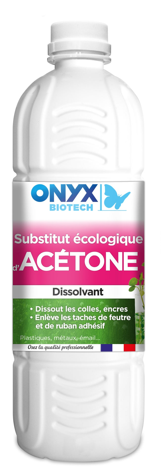 Colle Thermofusible Leroy Merlin substitut d'acétone ecologique onyx dissolvant, 1 l