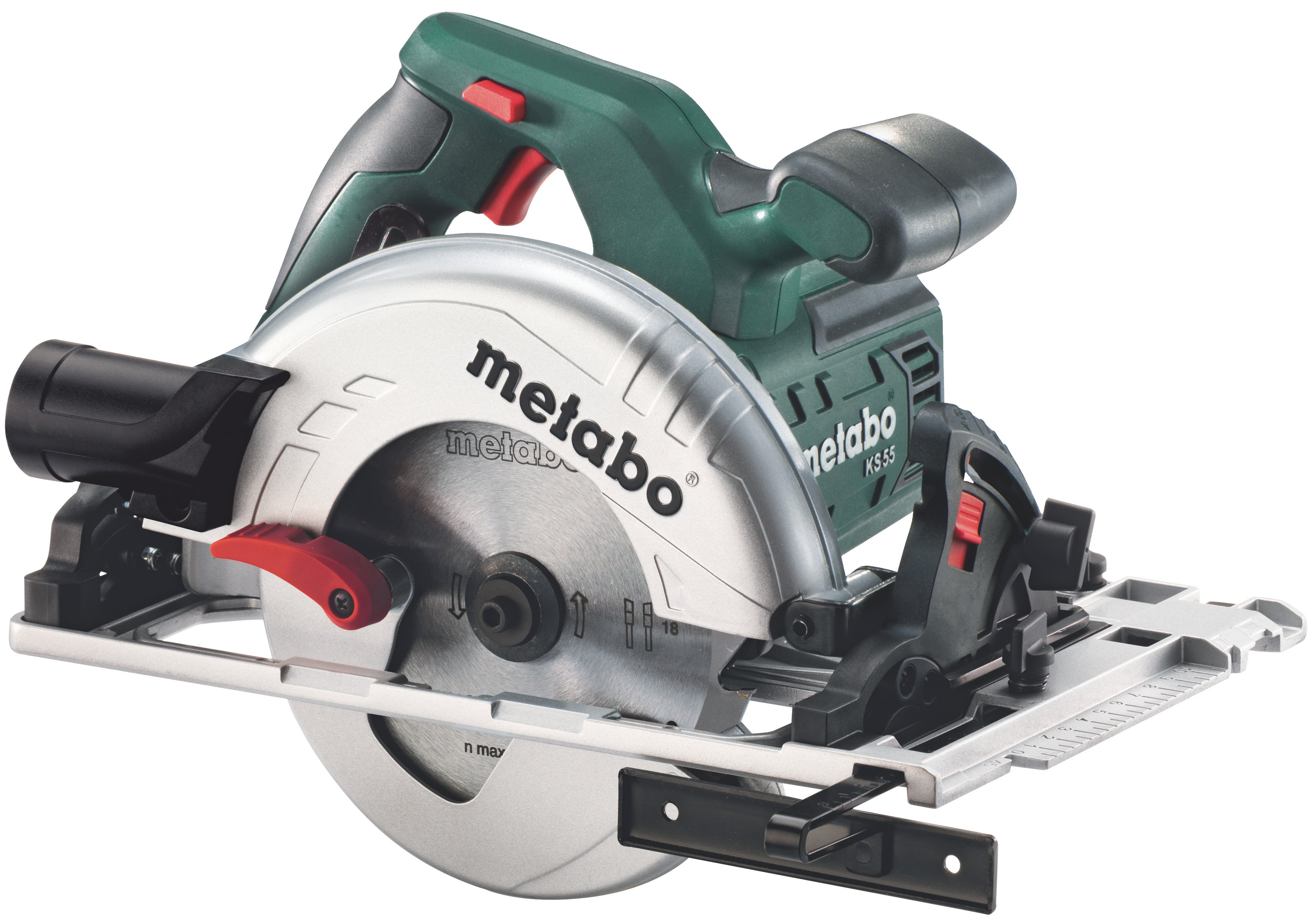 Scie Circulaire Filaire Metabo 670 W 160 Mm Ks 55 Fs