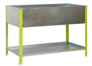 Image : Potager sur pieds SIMONRACK 8435104941515 vert galvanisé L.85 x l.90 x H.60 cm