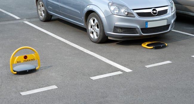 Barriere De Parking Automatique Mottez Jaune Leroy Merlin