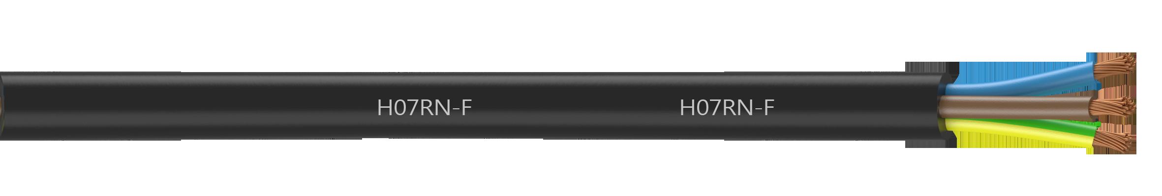 Caoutchouc Tuyau h07rn-f 5x1,5 mm Carré chantiers Câble baukabel Câble électrique 100 km
