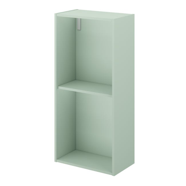 Cube De Rangement L 30 X H 64 X P 17 Cm Vert Sauge 5 Neo Line Leroy Merlin