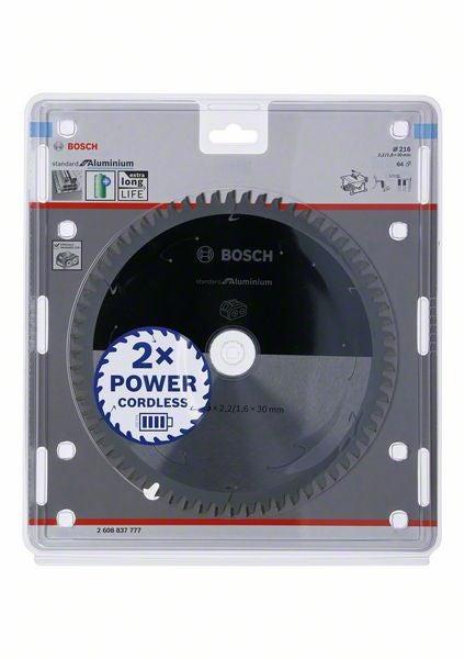 Lame Métal Bosch 2608837777 Pour Scie Circulaire 216x30x64