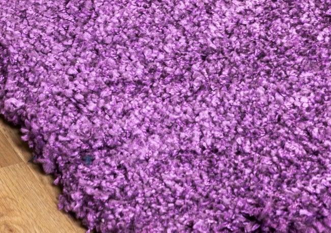 Tapis intérieur violet rectangulaire, l.200 x L.290 cm Fuz