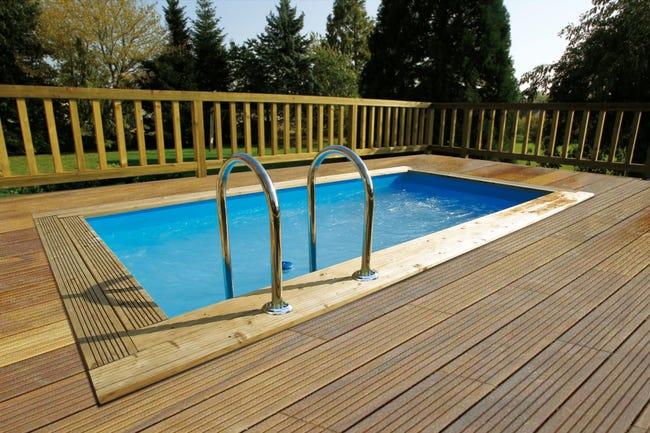 piscine horssol bois azura ubbink l45 x l25 x h126