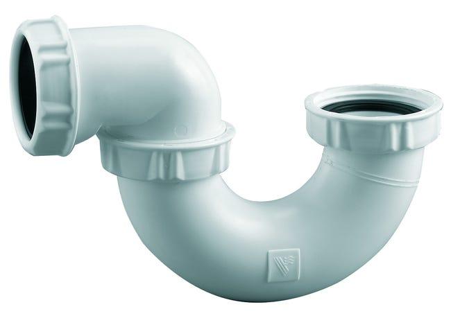 Siphon Pour Baignoire Siphon Baignoire Tube Sortie O40 Orientable Corps Plasti Leroy Merlin
