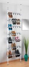 Range-chaussures télescopique Altas blanc, WENKO