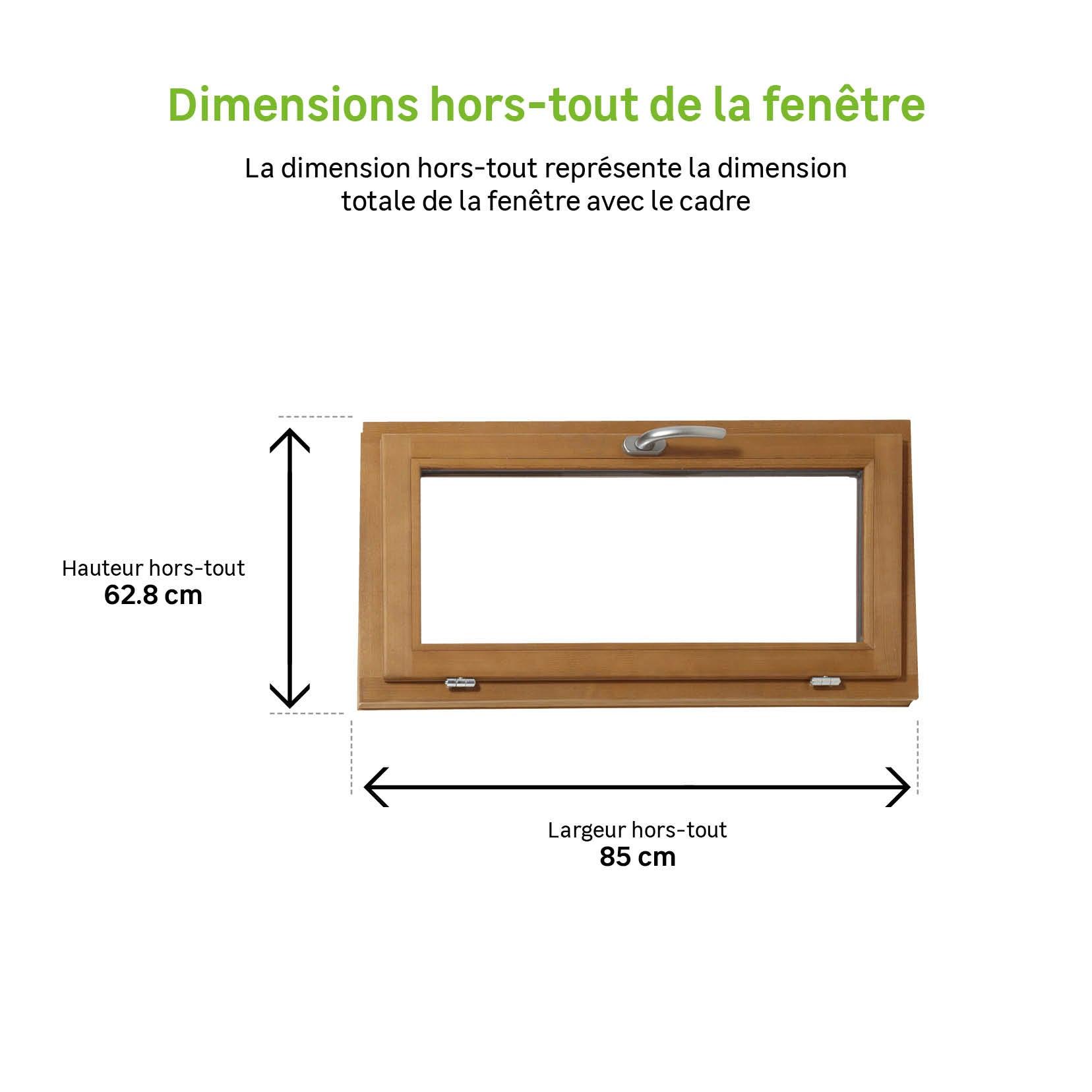 100cm//80cm Fenêtre Avec Choix De Supports