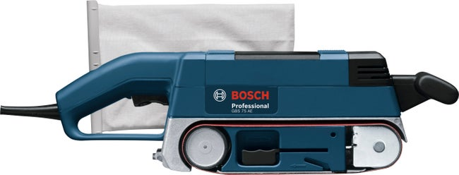 Ponceuse à Bande Filaire Bosch Professional Gbs 75 Ae 750