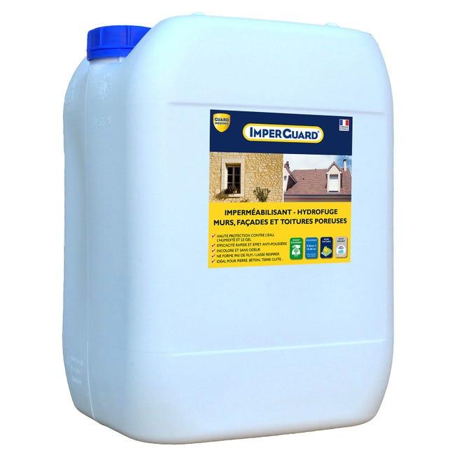 Impermeabilisant Hydrofuge Facade Et Toiture Imperguard 20l Incolore Leroy Merlin