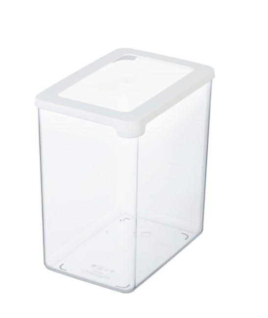 Boite De Rangement Plastique Gastromax 3 5l Transparent H 20 X L 18 X P 12 5 Cm Leroy Merlin