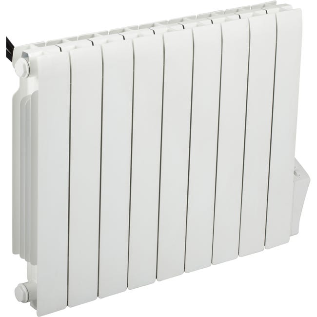 Radiateur Electrique A Inertie Fluide 1800 W Celcia Fluide Horizontal Blanc Leroy Merlin