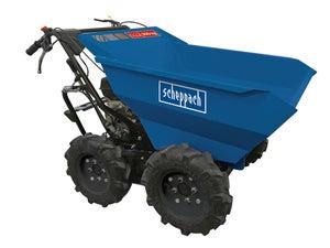Image : Dumper benne basculante motorisé SCHEPPACH, DP3000, 6.5CV 4 temps 196CC