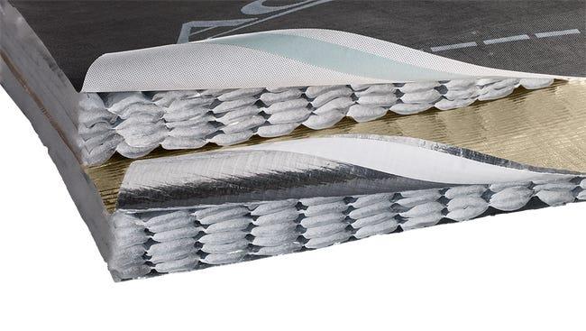 Isolant Triso Toiture L 10 M X L 1 6 M X Ep 45 Mm Actis Leroy Merlin