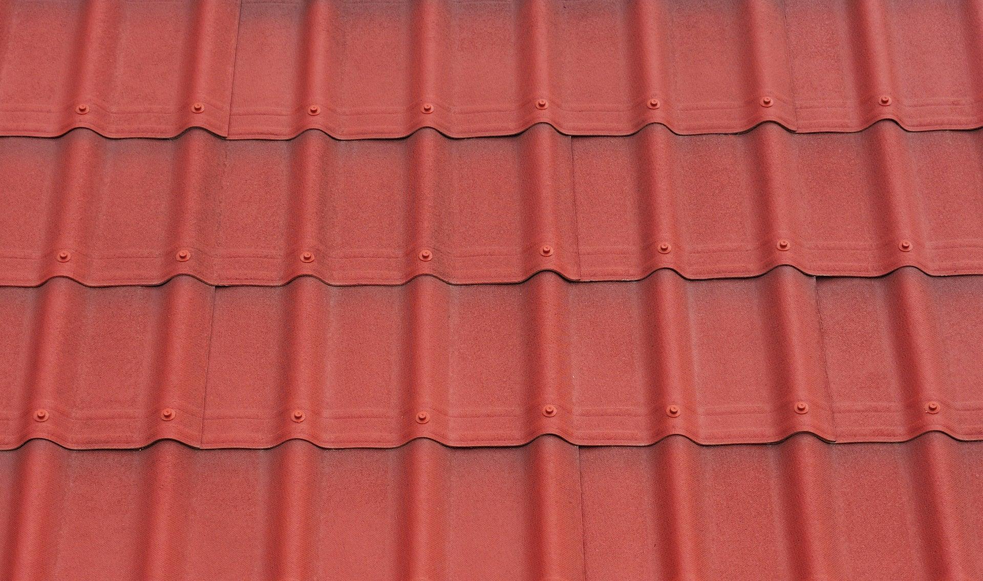 Plaque de toiture bitume rouge x L.1.07 m ONDULINE   Leroy Merlin