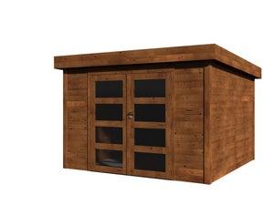 Abri de jardin bois DECOR ET JARDIN Elite Ep.28 mm, 16.83 m²