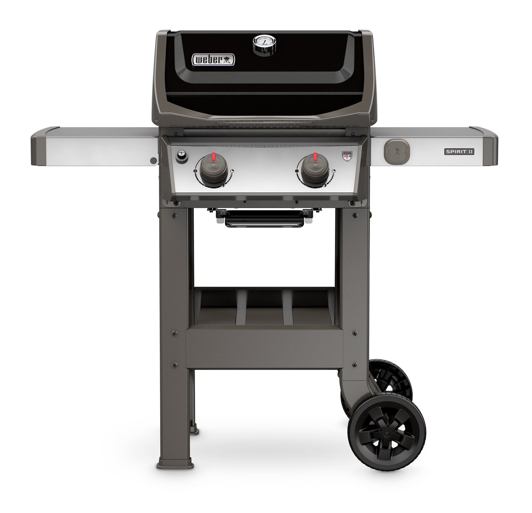 Barbecue À Gaz Weber Spirit 2 E 210 Black + Plancha | Leroy
