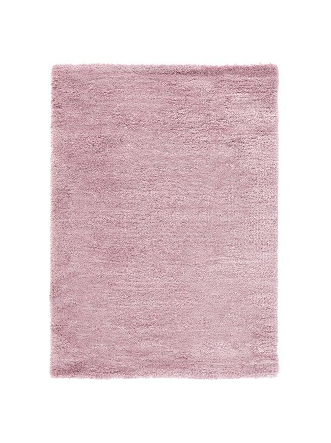 Tapis mauve rectangulaire, l.200 x L.290 cm Soft
