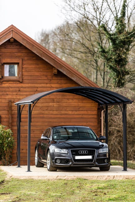 Carport Metal Car 3048 Alrp In 1 Voiture 14 62 M Leroy Merlin