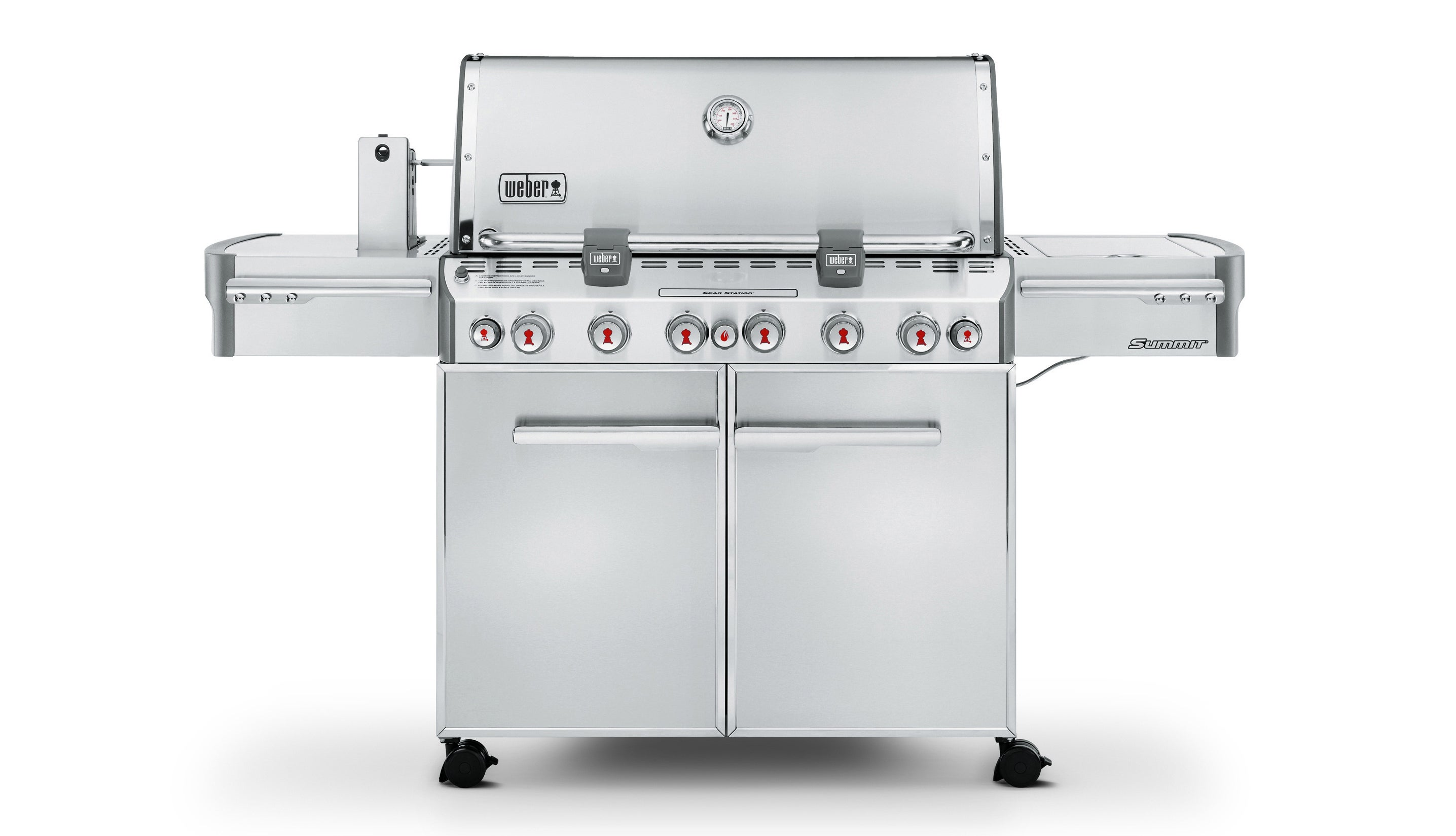 Barbecue à gaz Summit® S 670 GBS | Le site officiel de Weber®