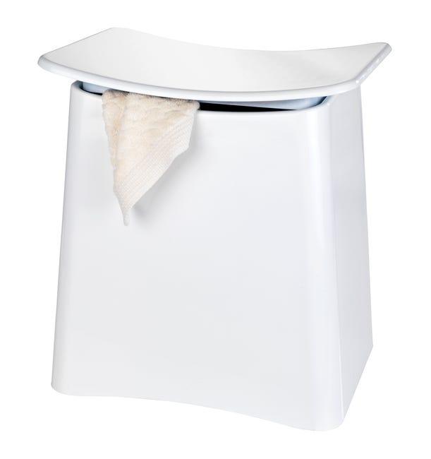 Tabouret Salle De Bain Wing Blanc Wenko Leroy Merlin