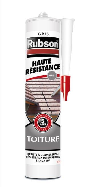 Mastic D Etancheite Rubson Toiture Haute Resistance 280 Ml Gris Leroy Merlin