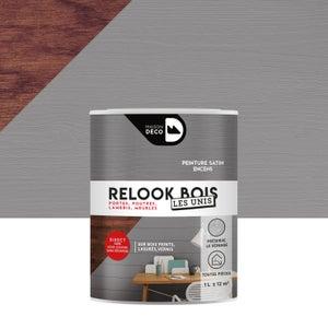 Lasure intérieure poutre et lambris Relook bois MAISON DECO, 1 l, encens